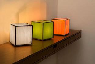 a.alvarez lampara sobremesa Doscubos - Lámpara Doscubos