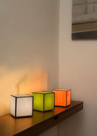 a.alvarez8 lampara sobremesa Doscubos - Lámpara Doscubos