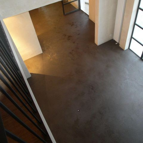 Cemento pulido exterior elegant casa en mxico con - Pavimento cemento pulido ...