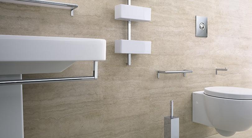 sencia funcionalidad y calidad son los conceptos que engloban los accesorios universales de Catalano. Pensados para ser combinados con los máximos productos del catálogo. 21 - Accesorios baño